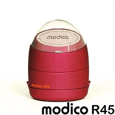 Pieczątki okrągłe Modico o średnicy 45mm.